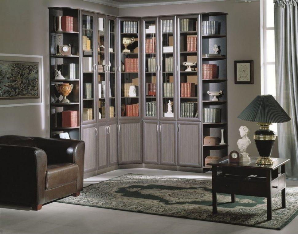 Промышленный книжный шкаф — для каких интерьеров он подходит?