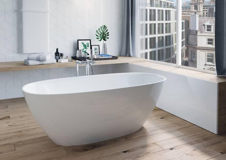 Отдельностоящая ванна — цена, размеры, для кого?