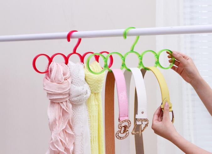 Круглые вешалки для шарфов