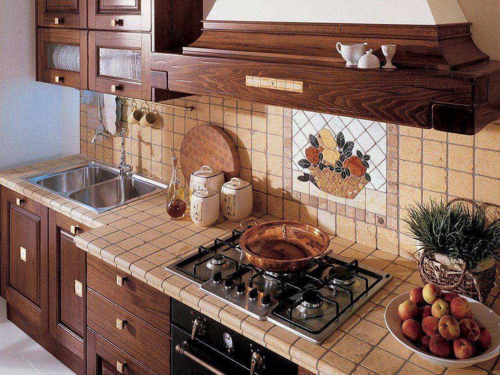 Идеи кафеля для кухни