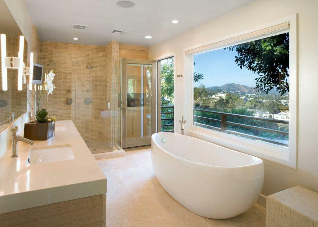 здоровая ванная комната