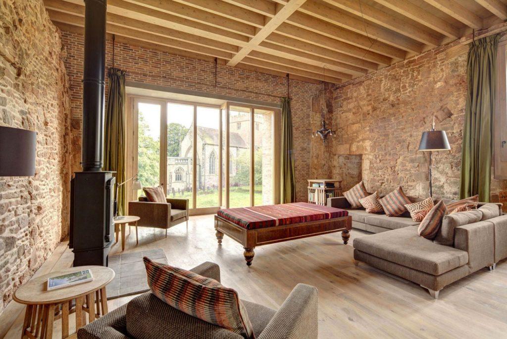Современный дизайн старинных домов