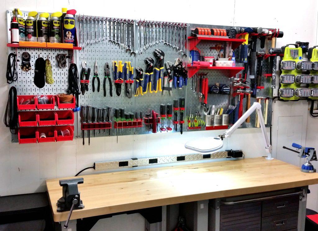 хранение инструментов для ремонта